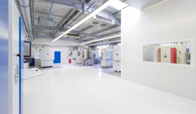 Foto: Produktionshalle Eifeler Wien - Hightech Beschichtungstechnik