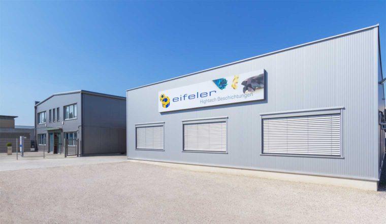 Foto: Produktionsstandort der Eifeler Plasma Beschichtungs GmbH in Wien